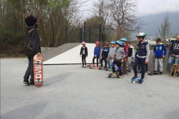 Lo skatepark di Sondrio