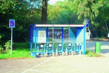 Olanda, sedie a ruote a disposizione del pubblico