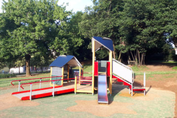 Lesmo (Monza), parco comunale; realizzazione Ludicando (ph. BG)