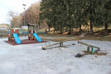 Parco giochi a Teglio (Sondrio), ph. BG