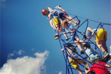 Parco giochi a Sestri Levante (foto fornita da Roberto Montanari)
