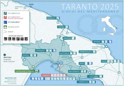 Taranto-mappa impianti