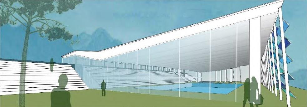 Nuovo centro per il nuoto da realizzare