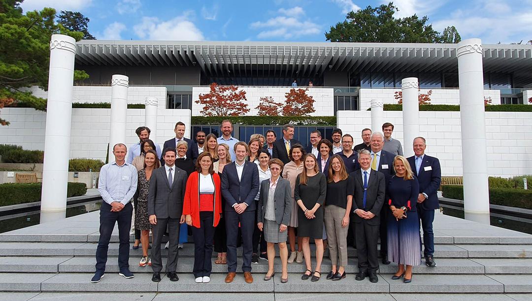 I firmatari di UN Sports for Climate Action ospitati dal IOC presso l'Olympic Museum (foto ufficiale)