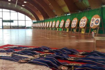 Il torneo di tiro con l'arco 2017 (sulla vecchia pavimentazione)