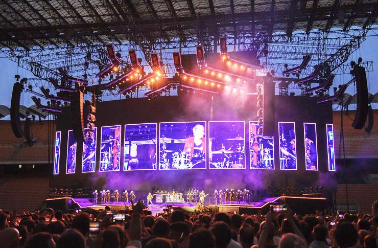 Muse in concerto a Milano foto di Oriana Spadaro