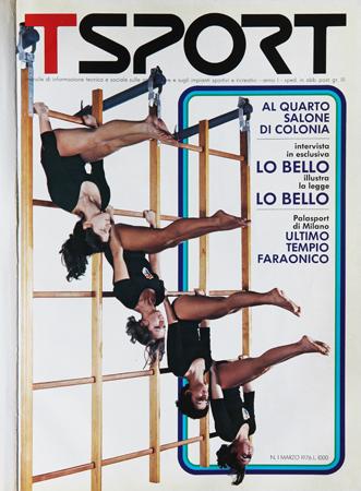 La copertina del primo numero di Tsport