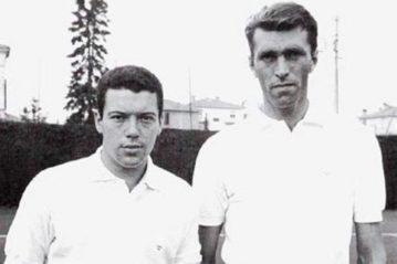 Pietrangeli e Sirola al Roland Garros nel 1959