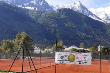 Chamonix: campo in terra rossa rinforzata RedPlus (R)