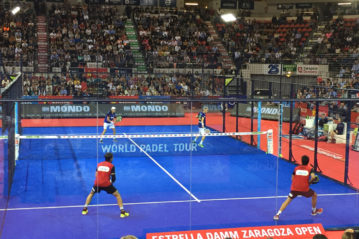 Saragozza, World Padel Tour 2017 (manto Mondoturf di Mondo)