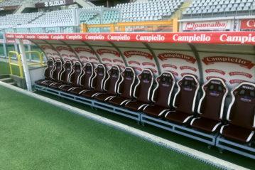 Sparco - panchine e sedute per stadi, palazzetti e polivalenti, tribune
