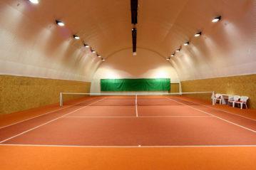 manto di Limonta Sport al Rakvice Tennis Club (Repubblica Ceca).