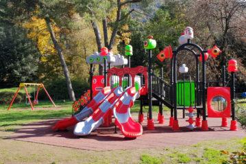 evolplay parchi gioco - pavimentazioni antitrauma - coperture sportive
