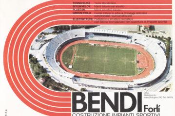 La prima pubblicità di Bendi Costruzioni su Tsport di gennaio 1977.