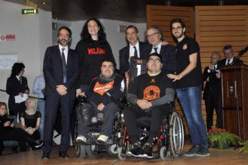 Rappresentanti dell'ASD San Gabriele Basket.
