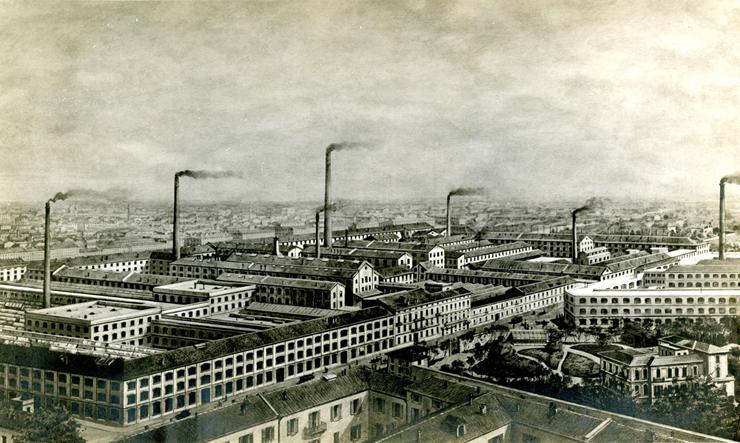 Lo Stabilimento Pirelli di Milano, 1920 - 1930.