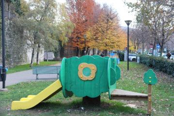 parco inclusivo in linea a Como - Viale Varese - Legnolandia - sporteimpianti.it