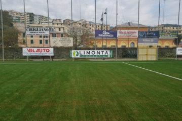 Genova, il campo Baciccia.