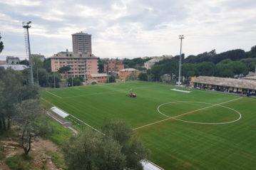 Genova, il campo Sanguineti.