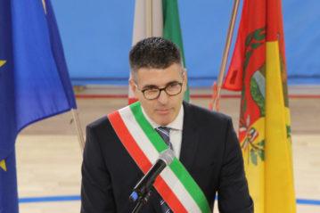 Il Sindaco di Orio Alessandro Colletta.