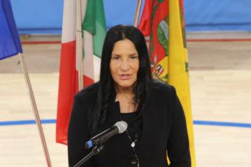 La delegata del CONI provinciale Lara Magoni.
