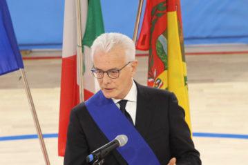 Il Presidente della Provincia di Bergamo Gianfranco Gafforelli.a