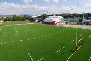 Firenze, centro sportivo Padovani (Olimpia Costruzioni).