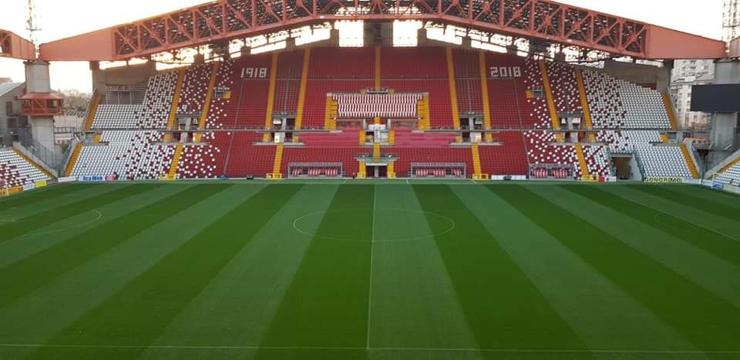 Lo stadio Nereo Rocco di Trieste.