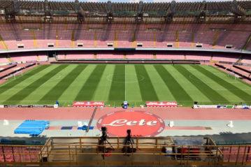 Napoli, lo Stadio San Paolo (prima degli interventi per l'Universiade).