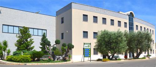 La sede di Officine D'Amico a Cisternino (BR).