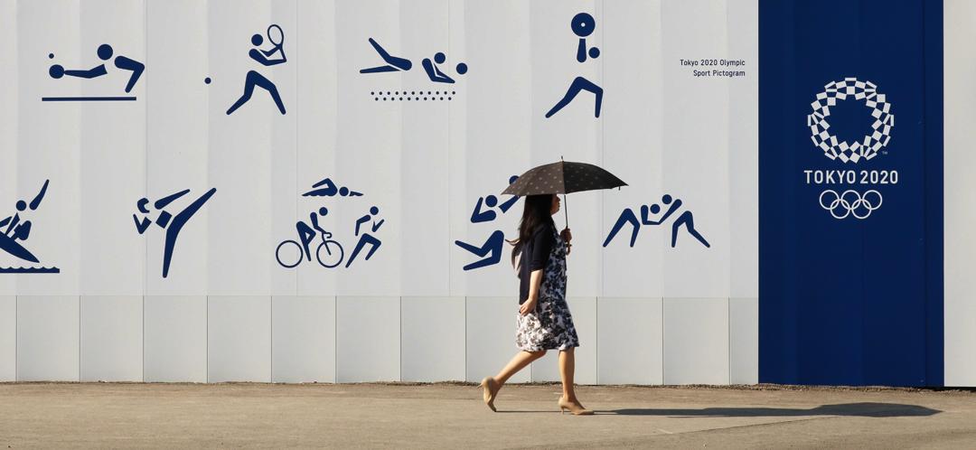Tokyo, 9 agosto 2019, zona del villaggio olimpico di Harumi in costruzione (foto Ned Snowman/Shutterstock).