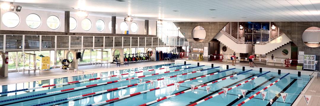Centro natatorio a Mirandola, Modena (da tsport)