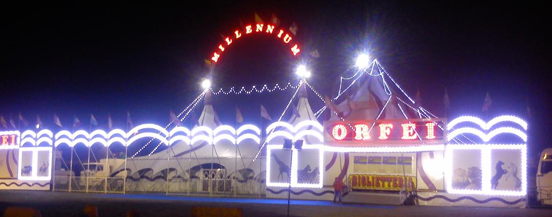 Tour 2015 del circo Millennium (foto BG)