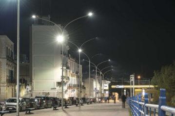 Smart lighting a Castellaneta (Taranto)