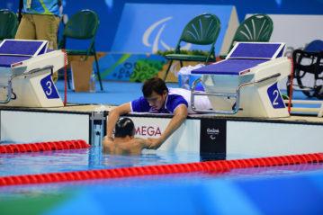 Paralimpiadi Rio 2016. Il nuotatore tailandese Somchai Doungkaew (foto FocusDzign/Shutterstock).
