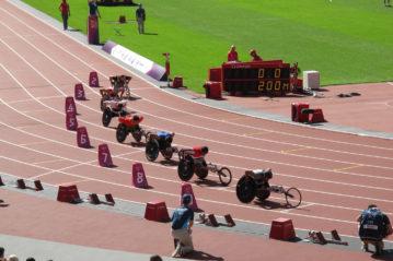 Area degli atleti: accesso alla pista di atletica leggera.