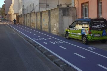 Percorso ciclo-pedonale promiscuo (foto www.cebic.it).