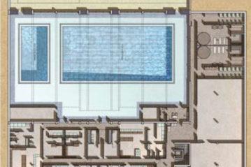 Pianta della piscina (da Spaziosport n. 18/2011).
