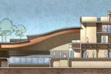 Sezione della piscina (da Spaziosport n. 18/2011).