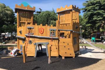 i giochi del parco giochi di San'Antonio Abate - Kompan