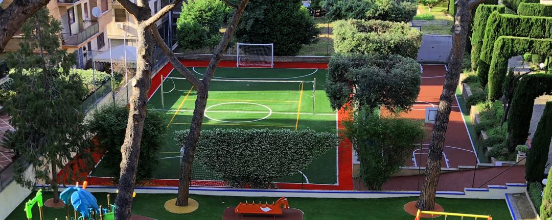 evolplay 334web-sport playground a roma presso un istituto
