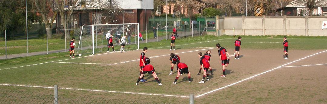 Codogno (LO), pulcini in campo (foto BG/sport&impianti).