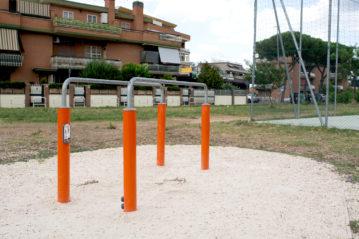 roma playground kompan tor tre teste