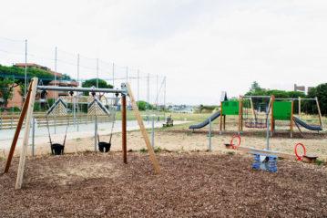 roma playground tor tre teste kompan