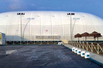 Isicover - manutenzione, produzione e installazione tensostrutture e palloni pressostatici