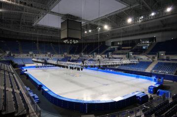 Interno della Gangneung Ice Arena (foto KoreaKHW / Shutterstock).