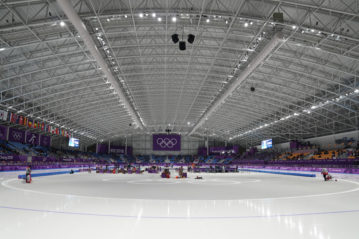 Il Gangneung Oval (foto Leonard Zhukovsky / Shutterstock).