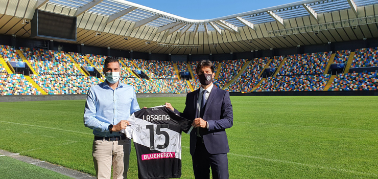 Dario Delcarro (technical dept. Red Plus), e Andrea Pizzuto (Udinese Calcio).