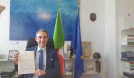 Il Ministro Sergio Costa (dalla cartella stampa del Ministero dell'Ambiente).