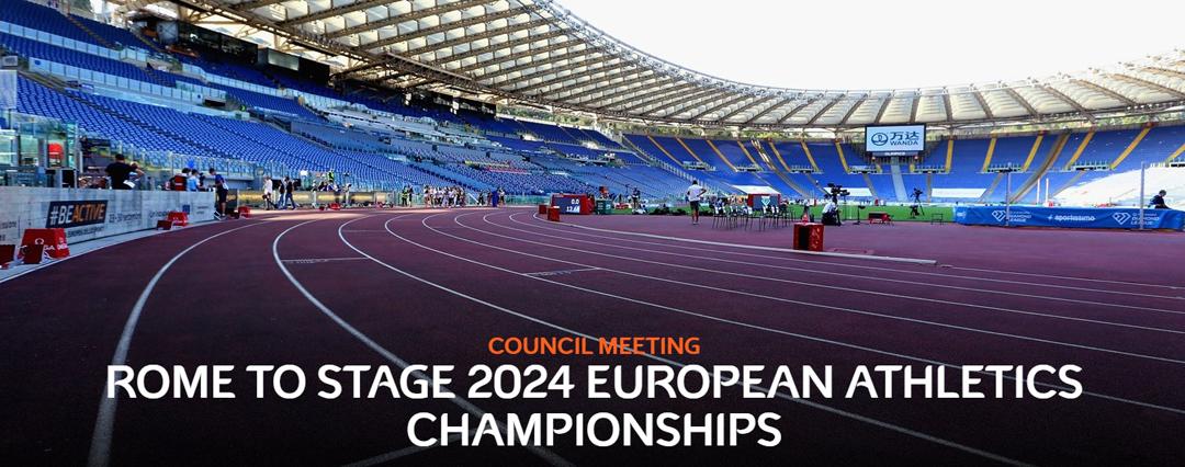 L'annuncio dell'assegnazione sul sito ufficiale di European Athletics.